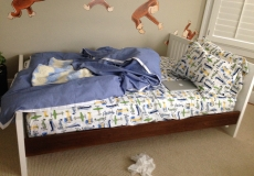 brand new DUCDUC full size youth bed