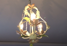 Floral Chandelier from Land of Nod
