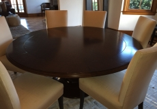 56-72 inch Round Dining Table