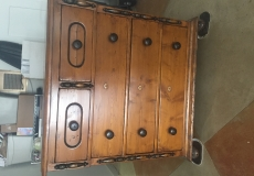 Gorgeous Early American Style Hardwood Dresser