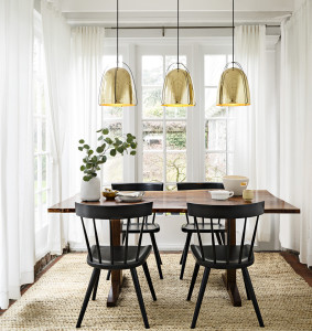 Brass, pendant, lighting