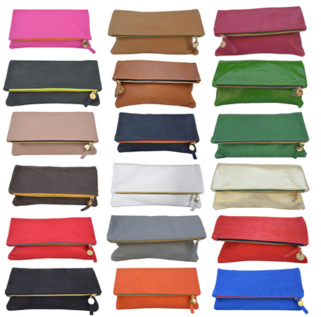 Claire Vivier clutch handbag