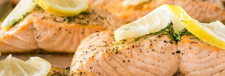 plate salmon