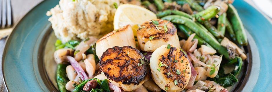 plate scallops