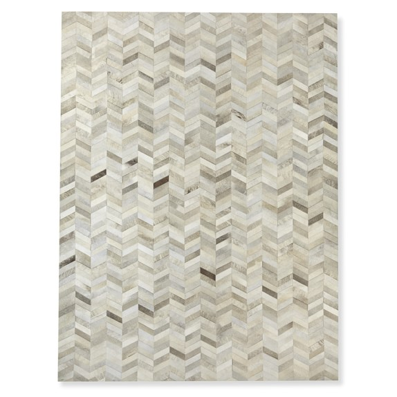 WS Home Pieced Chevron Rug