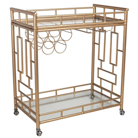Society Social Holloway Bar Cart
