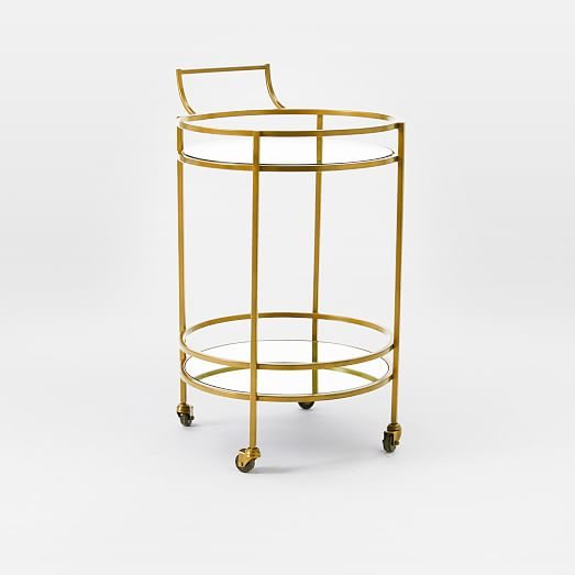 West Elm Valet Bar Cart