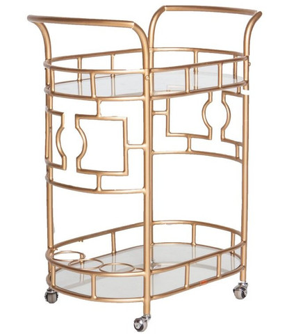 Society Social Bar Cart