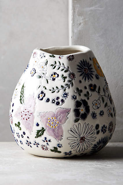 2016 03 01 Anthropologie flower vase