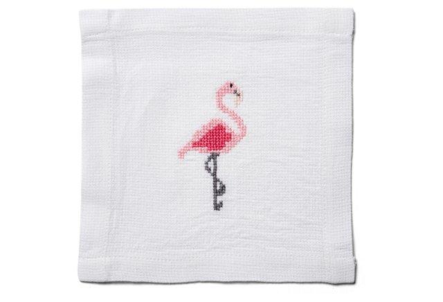 Flamingo Cocktail Napkin