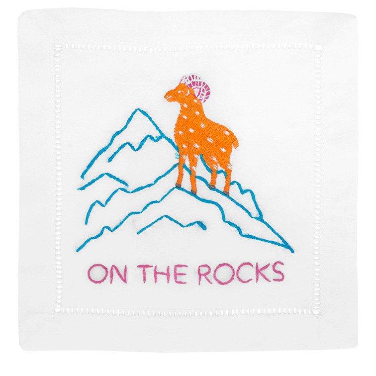 On the Rocks Napkin