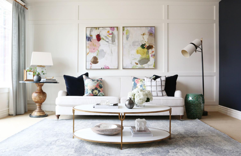 Break It Down: Spring Living Room | Revolving Decor
