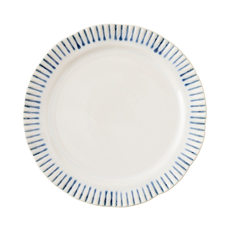 Juliska Striped Salad Dessert Plate