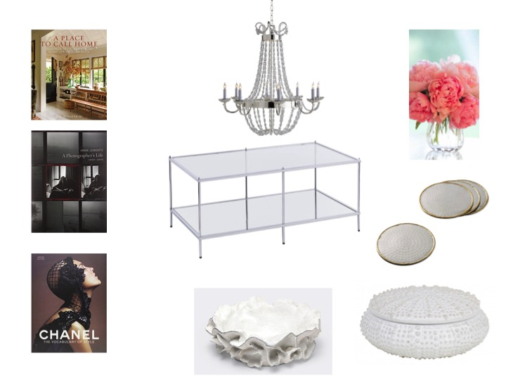 Coffee Table Cocktail Table Styling