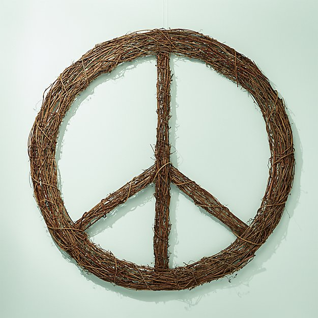 CB2 Inner Peace Wreath - Holiday