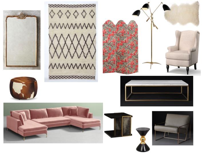 Jenna Lyons apartment budget friendly pieces