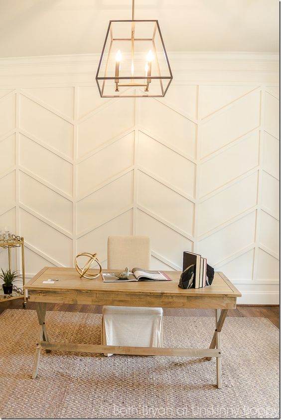 Chevron Wall Moulding