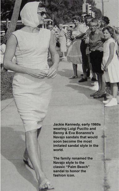 Jackie Kennedy in Sandals