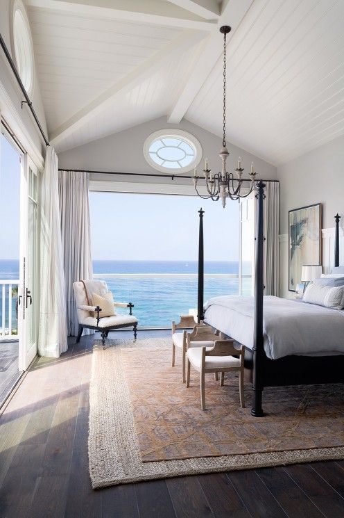Beach House Master Bedroom | RevolvingDecor.com