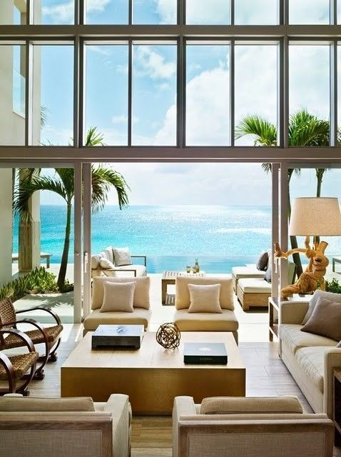 Beach House Living Room | RevolvingDecor.com