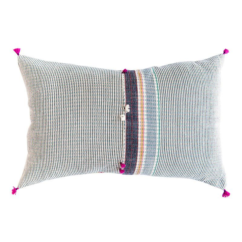 Summer Stripes: Aashia Pillow | RevolvingDecor.com