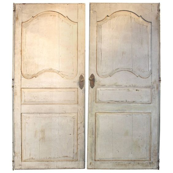 Painted Vintage French Doors