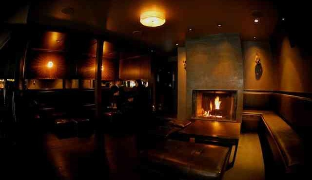 bars with fireplaces