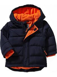 old navy, puffer